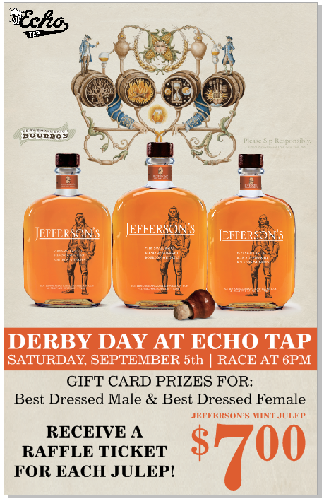 echo tap kentucky derby 2020